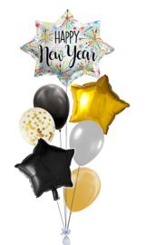 Ballonnentros Happy New Year