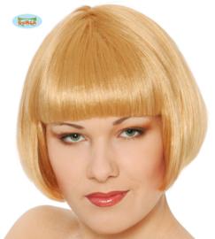 Blonde pruik kort