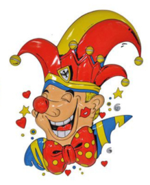 Wanddecoratie Prins Carnaval
