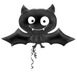 Folieballon met vrolijke vleermuis