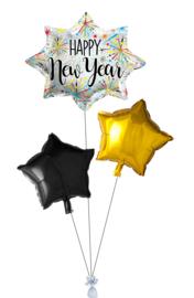 Ballonnentros Happy New Year klein