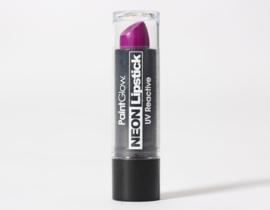 Lippenstift neon paars