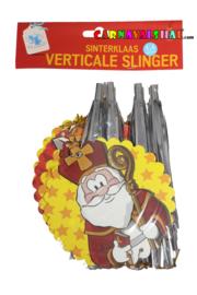 Welkom Sinterklaas verticale slinger