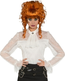 Steampunk lace blouse