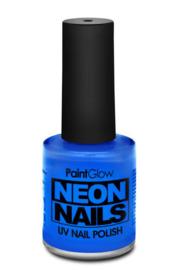 Nagellak neon blauw