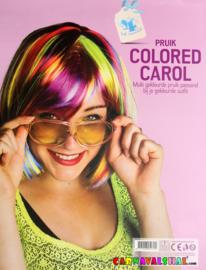 Pruik Colored Carol