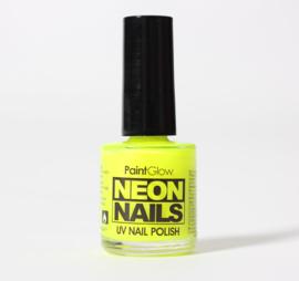 Nagellak neon geel