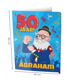 Raambord Abraham 50 jaar