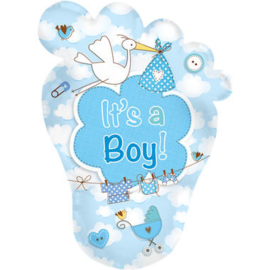 Folieballon it's a boy!