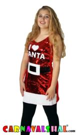 I love Santa, Kerstjurk