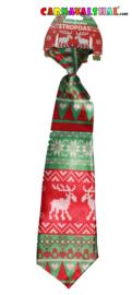Foute Kersttrui stropdas