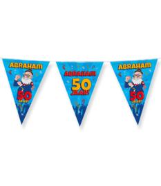 Vlaggenlijn Abraham 50 jaar