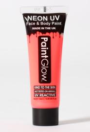 Face en bodypaint rood