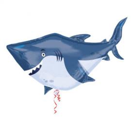 Folieballon mega haai