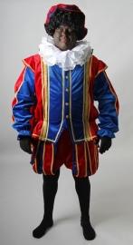 Piet rood blauw deluxe met cape
