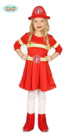 Brandweer meisje