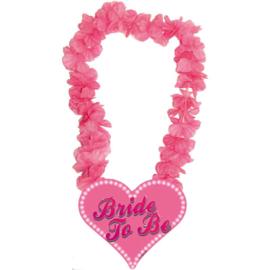 Bride to Be, Hawaii krans roze