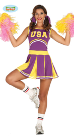 Cheerleader USA paars