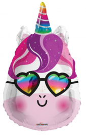 Folieballon unicorn