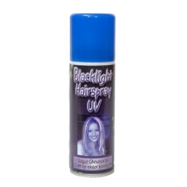 Glow in the dark haarspray