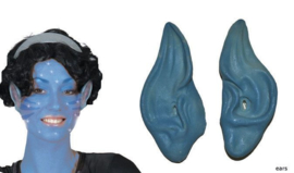 Blauwe oren