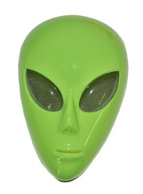 Masker alien groen