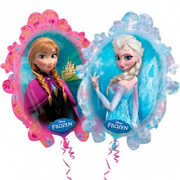 Folieballon Frozen spiegel