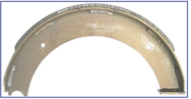 Remschoen BPW 350mm x 60mm