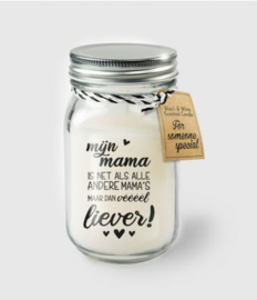 Black & White Candle -  mama