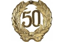 Hulde deco goud 50