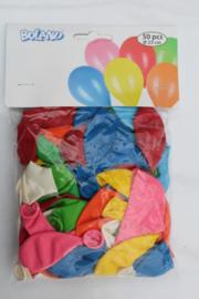 Ballonnen Assorti 50 stuks