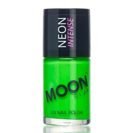 Neon UV nail polish intense green