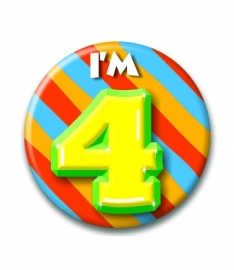 Button 4 jaar