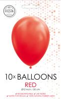 10 Ballonnen Red