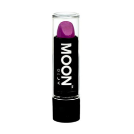 Neon UV lipstick intense purple