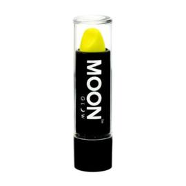 Neon UV lipstick intense yellow
