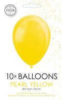 10 Ballonnen Pearl Yellow