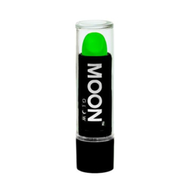 Neon UV lipstick intense green