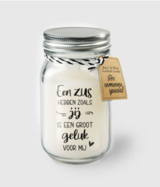 Black & White Candle -  zus