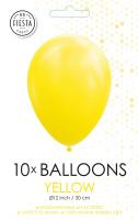 10 Ballonnen Yellow