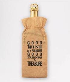 Bottle Gift Bag - Good wine