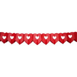 Slinger Dubbel Hart rood