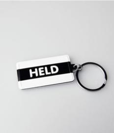 Black & White keyring - Held