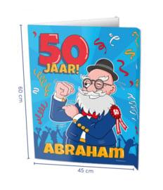 Window Sign - Abraham