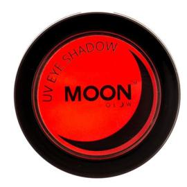 Neon UV eye shadow red