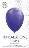 10 Ballonnen Paars