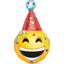Folieballon supershape smiley