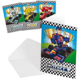 Formule 1 uitnodigingen