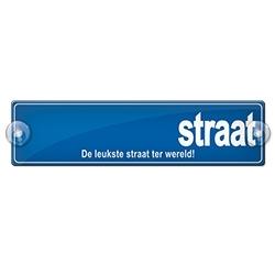 (straat)naambord - straat