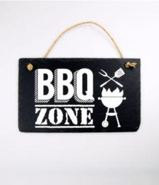 Leisteen - BBQ zone